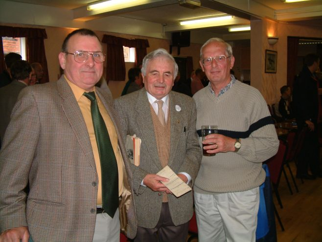 Photo 18.    Norman Bidmead;  Ron Curtis;  Bryan Mason.