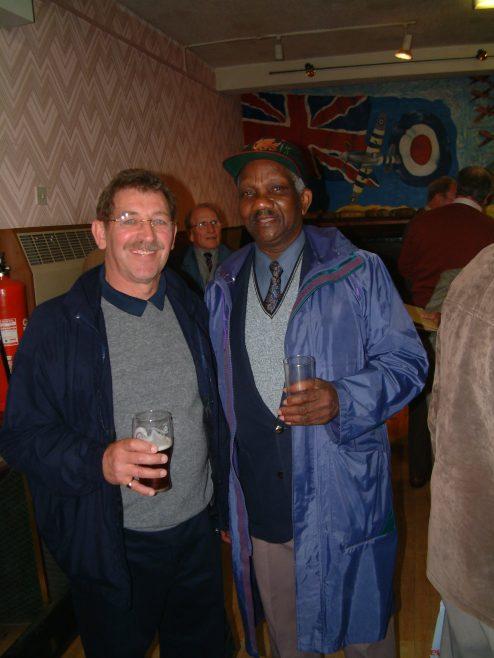 Photo 21.    Bob Scott; Carlton Green.