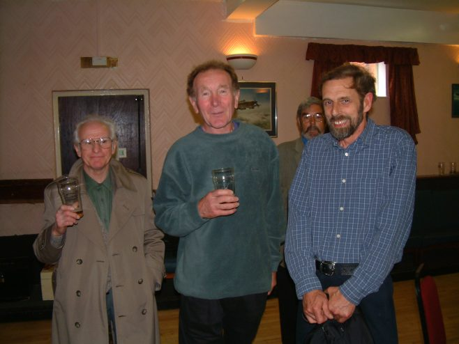 Photo 23.    Graham (Taffy) Hall; Barry Degge;  Chris Farley.