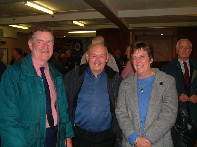 Photo 27.    Andy Fowler; Graham Vallender; Felicity Fowler.