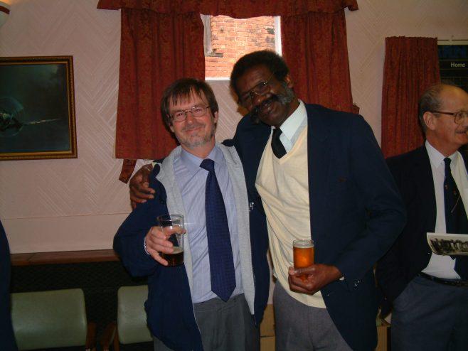 Photo 28.      Mike Lane;  Lindon Dennis .  ?  .