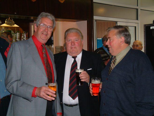 Photo 31.    Gerald (Rory) Moore;  Bill Norton  ;  Derek Bennet  .