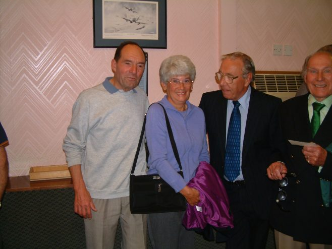 Photo 37.    Lionel Longney;  Margaret Yardley;  Ron Yardley;  Lionel Lane.