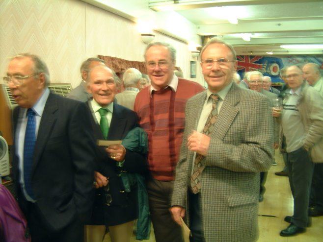 Photo 38.    Ron Yardley;  Lionel Lane;  Clarence Hack;  Ken Daniell.