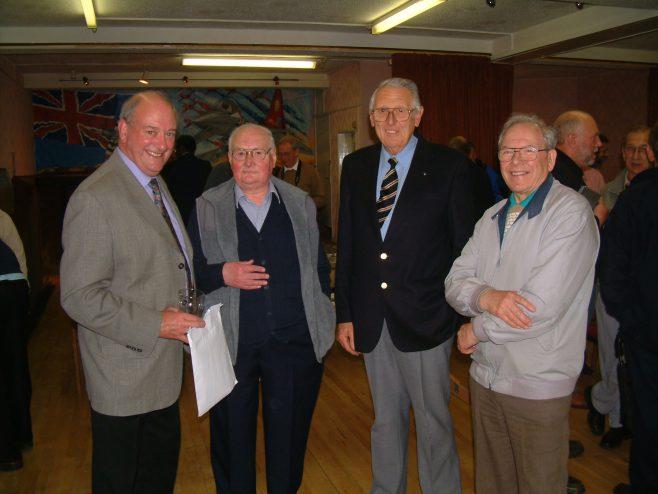 Photo 40.    Frank Bullock;  ?  ;  Garfield James  ;  Ralph Tucker.