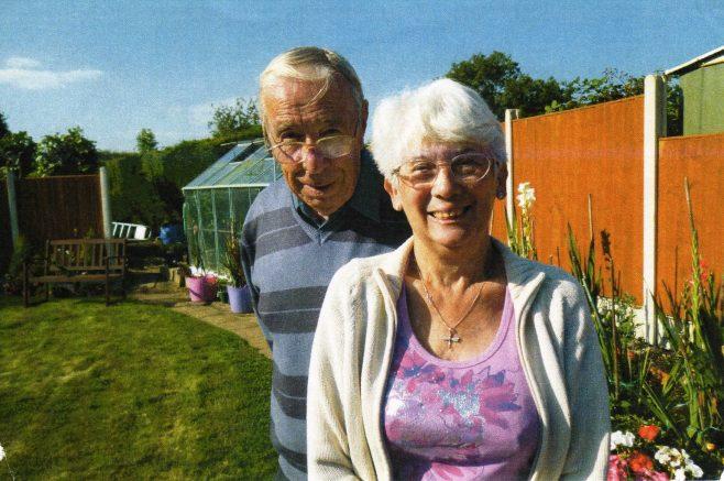 Photo 30.  Ron and Margaret Yardley.