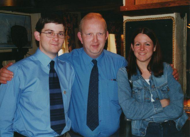 Photo 40. Steve Baker; Paul Regester; Claire Variet (Baker).
