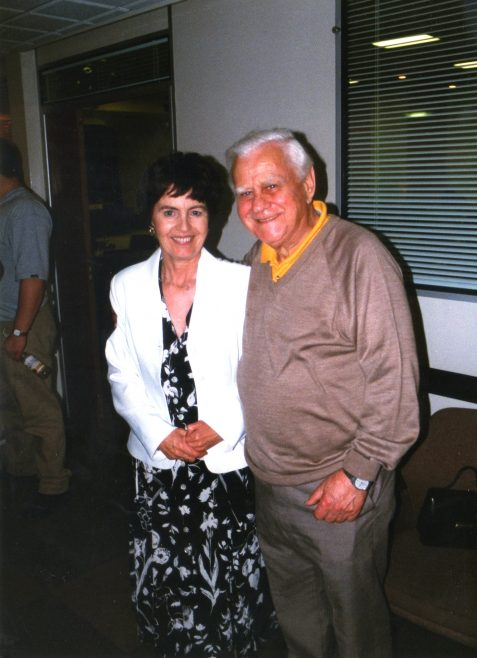 Photo 42. Janet Davis; Bob Madeley.