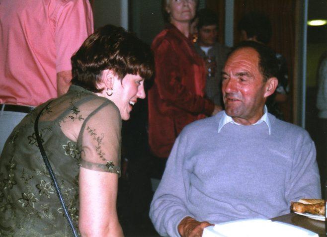 Photo 43.  Jackie Byett; Lionel Longney.