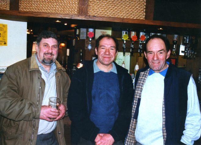 Photo 44.  Keith Bradley; Dave Tucker; Lionel Longney.