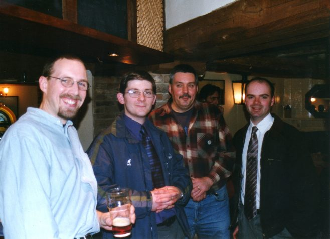 Photo 45.   ?  ; Steve Baker; Ray Cayless; Justin Bissell.