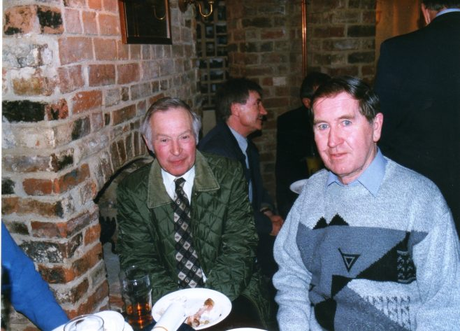 Photo 46.  Brian Billingham; John Mabbett.