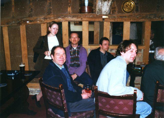 Photo 51. Fiona ?; Dave Tucker; Darren Hazelden;  ?  ; Nick Denby.