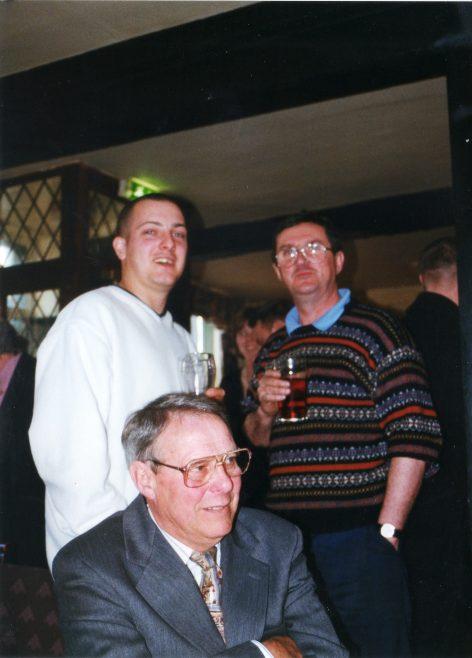 Photo 54.  Nick Goscombe; George Claridge; Clive Forster.