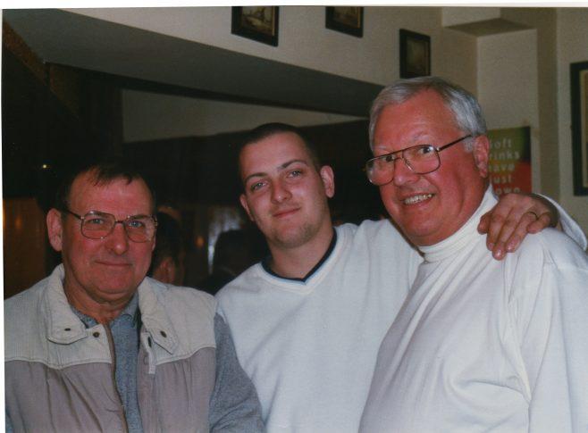 Photo 55.  Norman Bidmead; Nick Goscombe; Dave Jones.