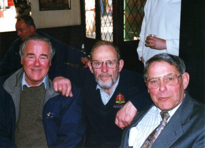 Photo 66.  Clarence Hack; John Davis; George Claridge.