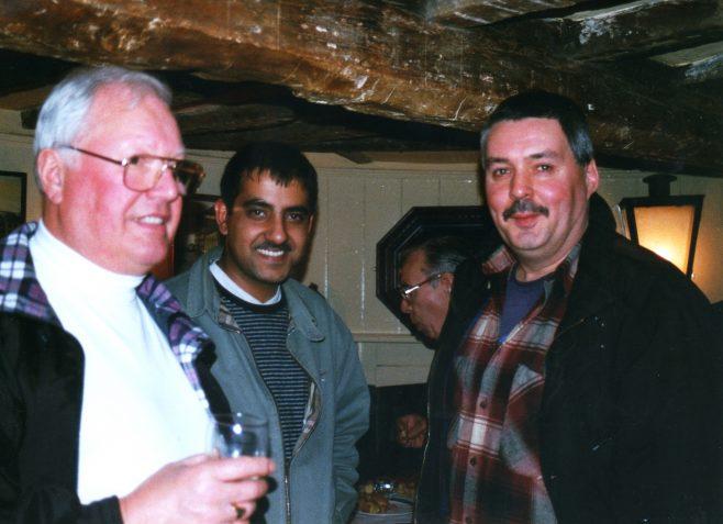 Photo 67.  Dave Jones;  Satwinder Kahn  ; Ray Cayliss.