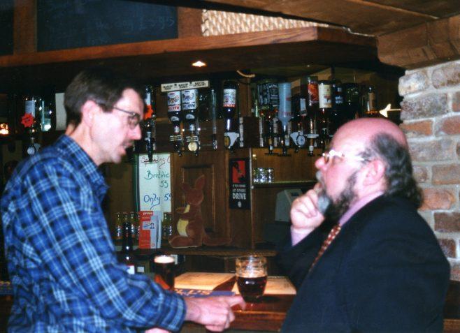 Photo 71.  Tim Lodge; John Bancroft.
