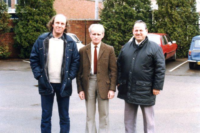 Photo 72.  'Chippy' Aston; 'Taffy' Hall;  ?  .