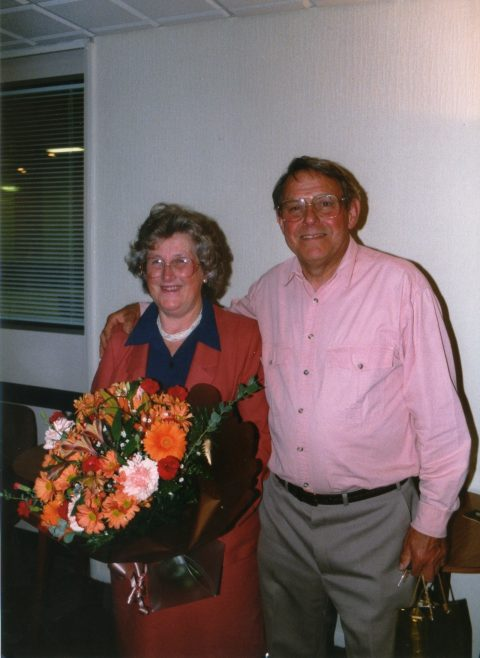 Photo 78.    Margaret and George Claridge.