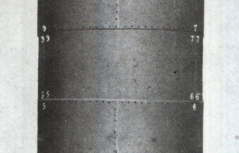 A weight-loaded Hydraulic Accumulator, c.1952