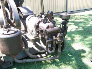 Fielding Gas Engine | This picture supplied by the owner
