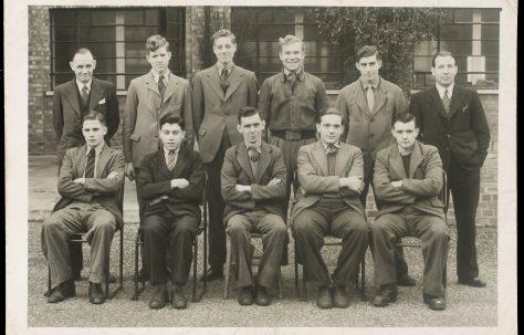 Apprentice intake August 1947