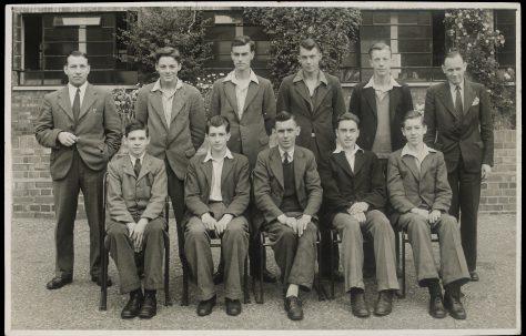 Apprentice intake February 1947