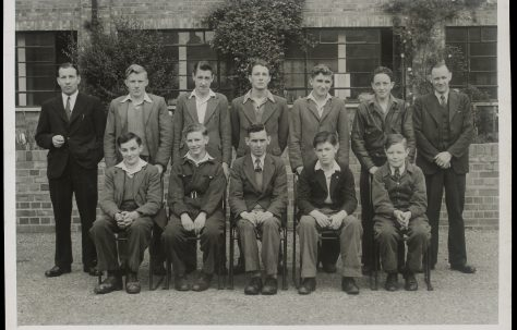 Apprentice intake February 1948