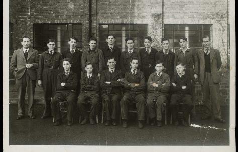 Apprentice intake August 1949