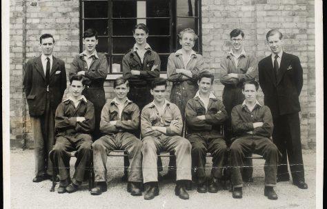 Apprentice intake 1950
