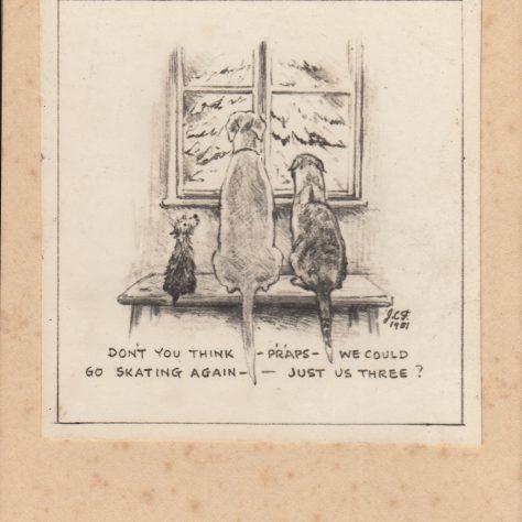 Jack Fielding's Christmas cards