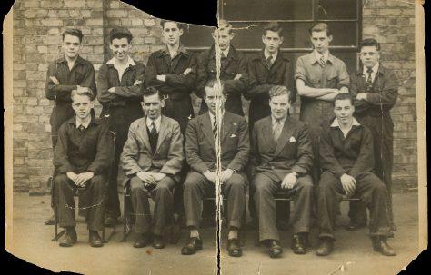 Apprentice intake 1954