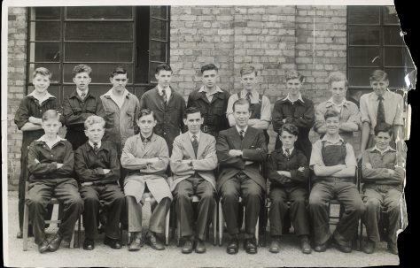 Apprentice intake 1953