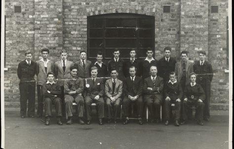 Apprentice intake 1955