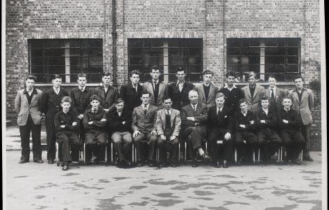 Apprentice intake 1956