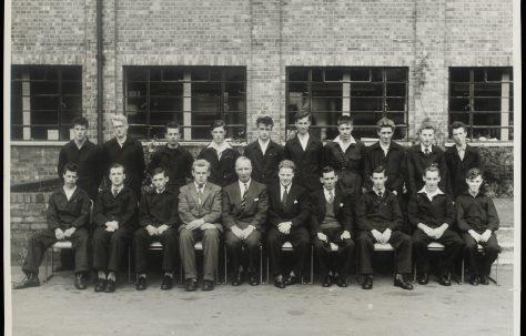 Apprentice intake 1957