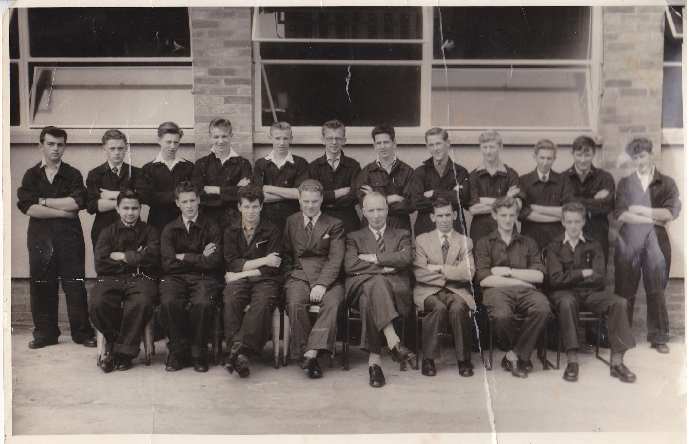 Apprentice intake 1958