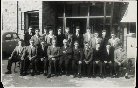 Apprentice intake 1959