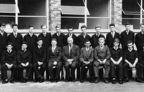 Apprentice intake 1960
