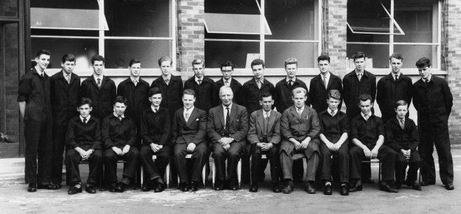 Apprentice intake 1960 | Bob Holmes