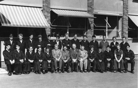 Apprentice intake 1961
