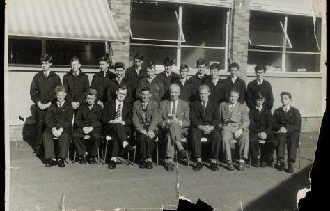 Apprentice intake 1962