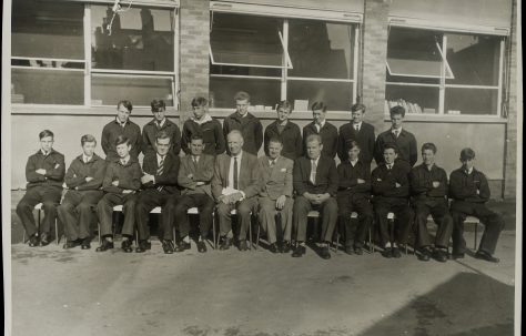 Apprentice intake 1963