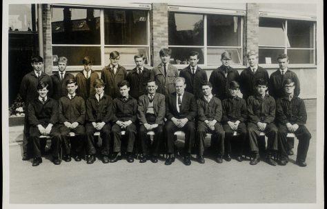 Apprentice intake 1964