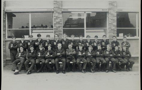 Apprentice intake 1965