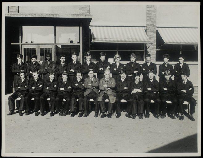 Apprentice intake 1966