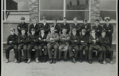 Apprentice intake 1967