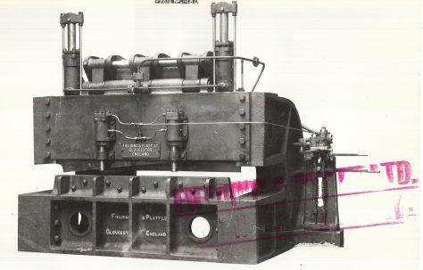 210 ton Hydraulic Plate Shear, c.1908