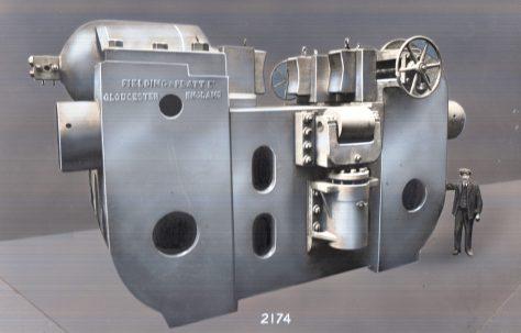 2500 ton Hydraulic Gun Straightener, c.1911
